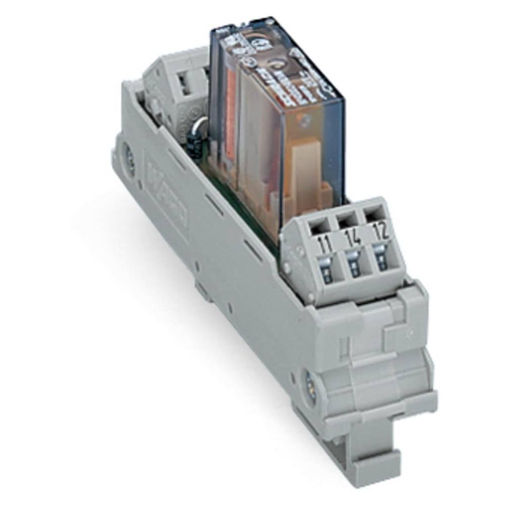 Relæprintplade bestykket 1 stk WAGO 288-380 1 x skiftekontakt 24 V/DC