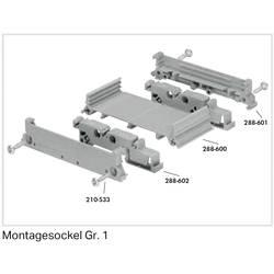 Stangenprofil (value.1292921) Grå 1 stk WAGO 288-600