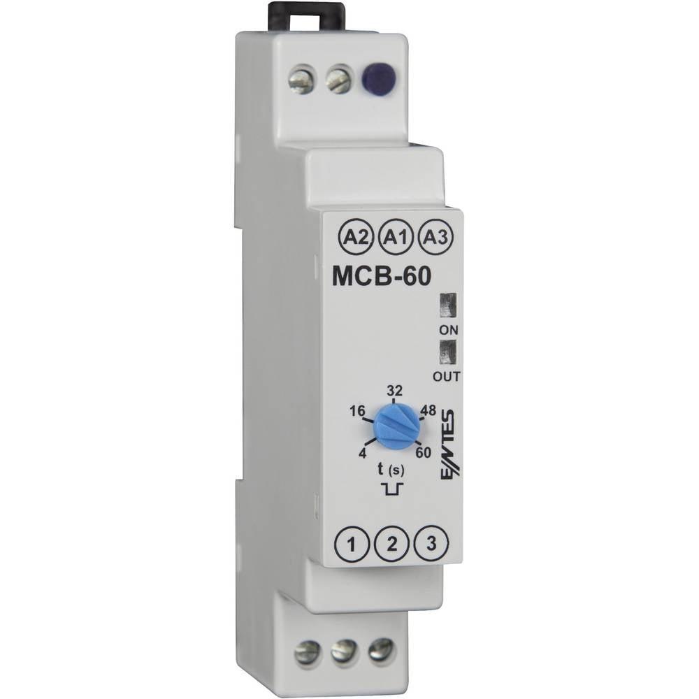 ENTES® MCB-60 Time Delay Relay, Timer, SPDT-CO (8 A) 24 V/AC/DC/230 V/AC