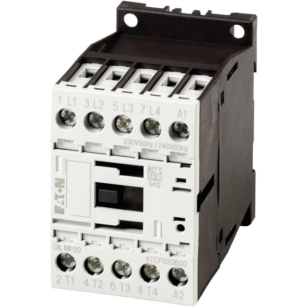 Kontaktor 1 stk DILM7-01(24VDC) Eaton 3 x afbryder 3 kW 24 V/DC 7 A med hjælpekontakt