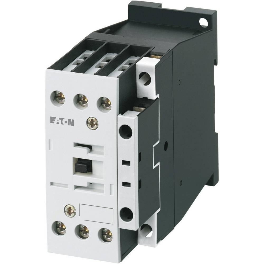 Kontaktor 1 stk DILM38-10(230V50HZ,240V60HZ) Eaton 3 x afbryder 18.5 kW 230 V/AC 38 A med hjælpekontakt