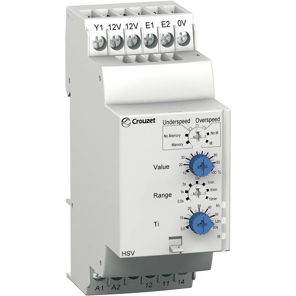 Crouzet-HSV Rele nadzora min./max. števila vrtljajev 84874320