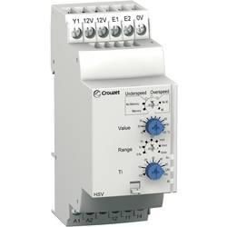 Overvågningsrelæer 24, 24 - 240, 240 V/DC, V/AC 1 x skiftekontakt 1 stk Crouzet HSV Hastighed undershoot, Overhastighed