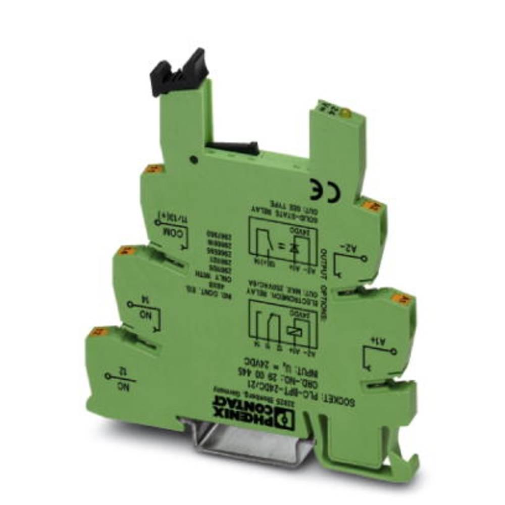 Relejsko podnožje 10 kosov Phoenix Contact PLC-BPT- 24DC/21