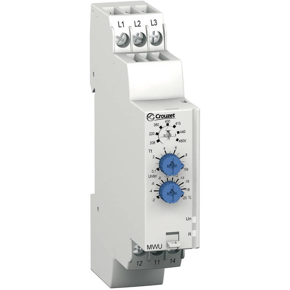 Crouzet-MWU Večfunkcijski rele nadzora faz, za 3-fazna omrežja/faze 84873023