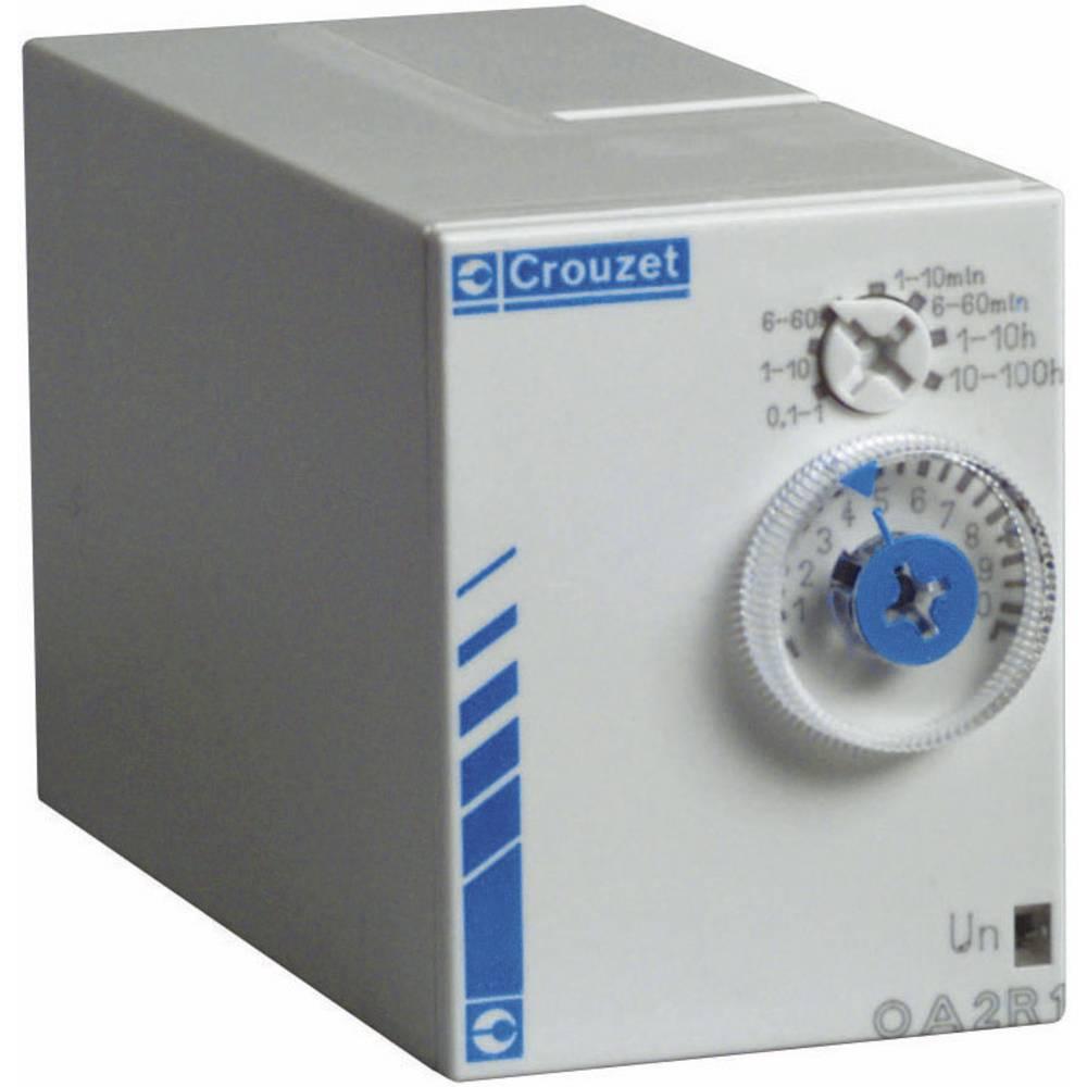 Crouzet-Elektronski časovni rele Chronos 2PA2R1, 24V/DC/ 24-240 V/AC,2 zakasnitvena releja 88867415
