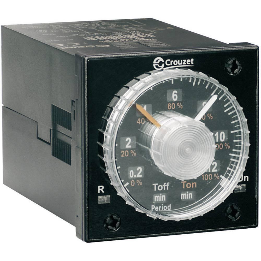 Crouzet-Vgradni analogni časovni rele TIMER TMR 48L, 12-240 V/DC/ 24-240 V/AC, 5A 88886516
