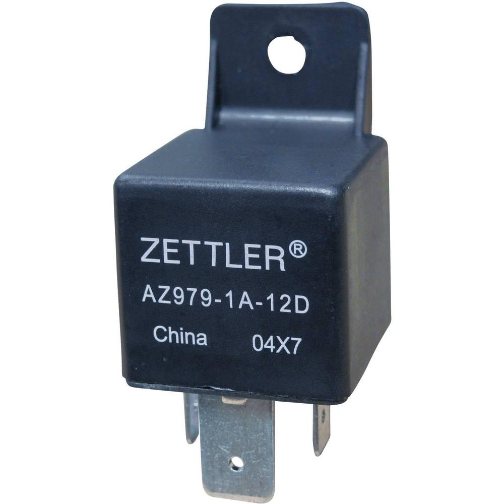Avtomobilski rele MINI-ISO Zettler Electronics AZ979-1C-12D 12 V/DC 1 preklopni kontakt 60 A maks. 30 V/DC 840 W