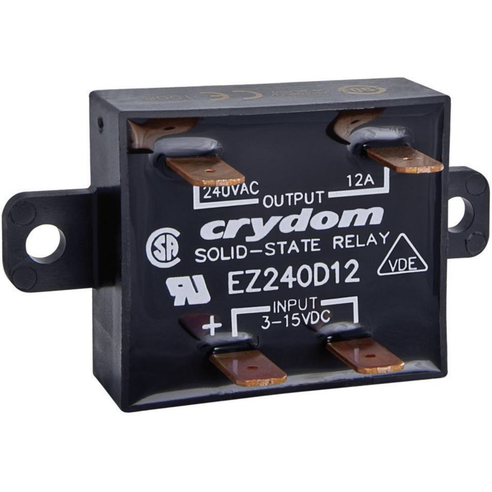 Elektronski bremenski rele Crydom EZ240D18, bremenski tok: 1dom EZ240D18, bremenski tok: 1