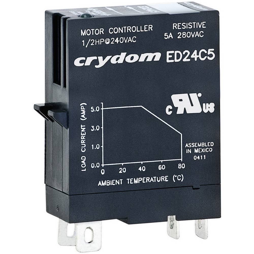 Utični poluprovodnički relej Crydom ED10C5, struja: 5 A