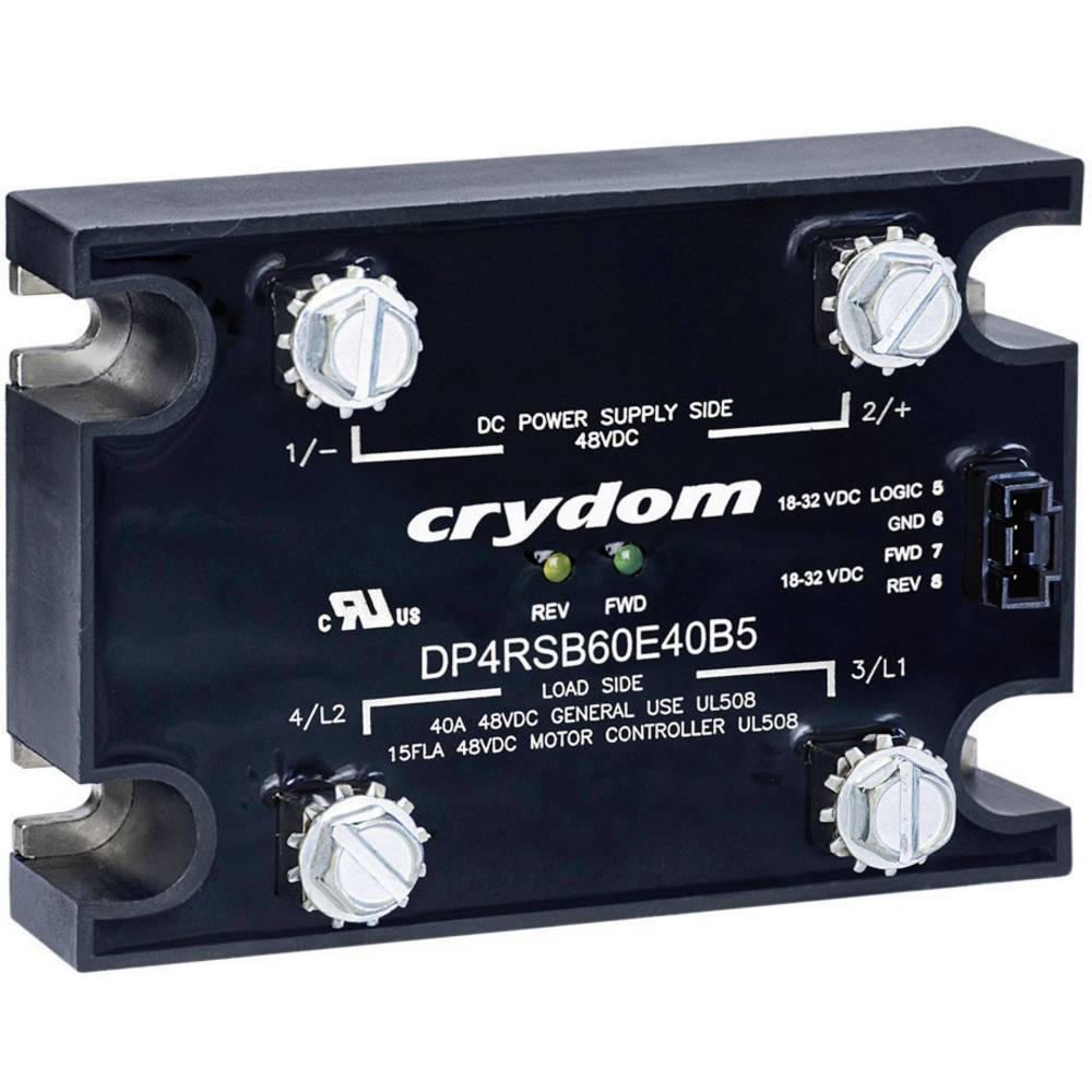 CRYDOM-Visoko napetostni polprevodniški kontaktor DP4R60D60, 60A, 48V/DC