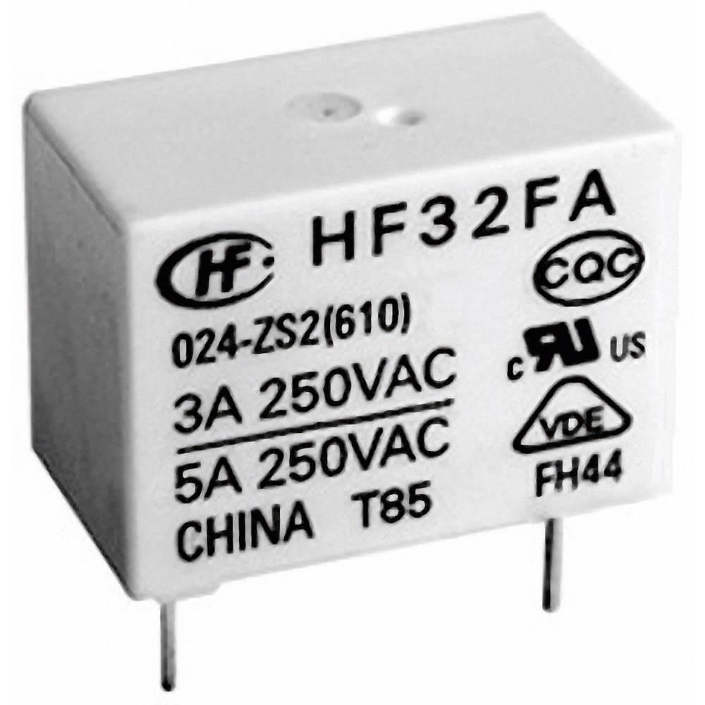 Omrežni rele Hongfa HF32FA/005-HSL2 (610), 5 V/DC, 1 x delovni k., 5 A, 30 V/DC/250 V/AC