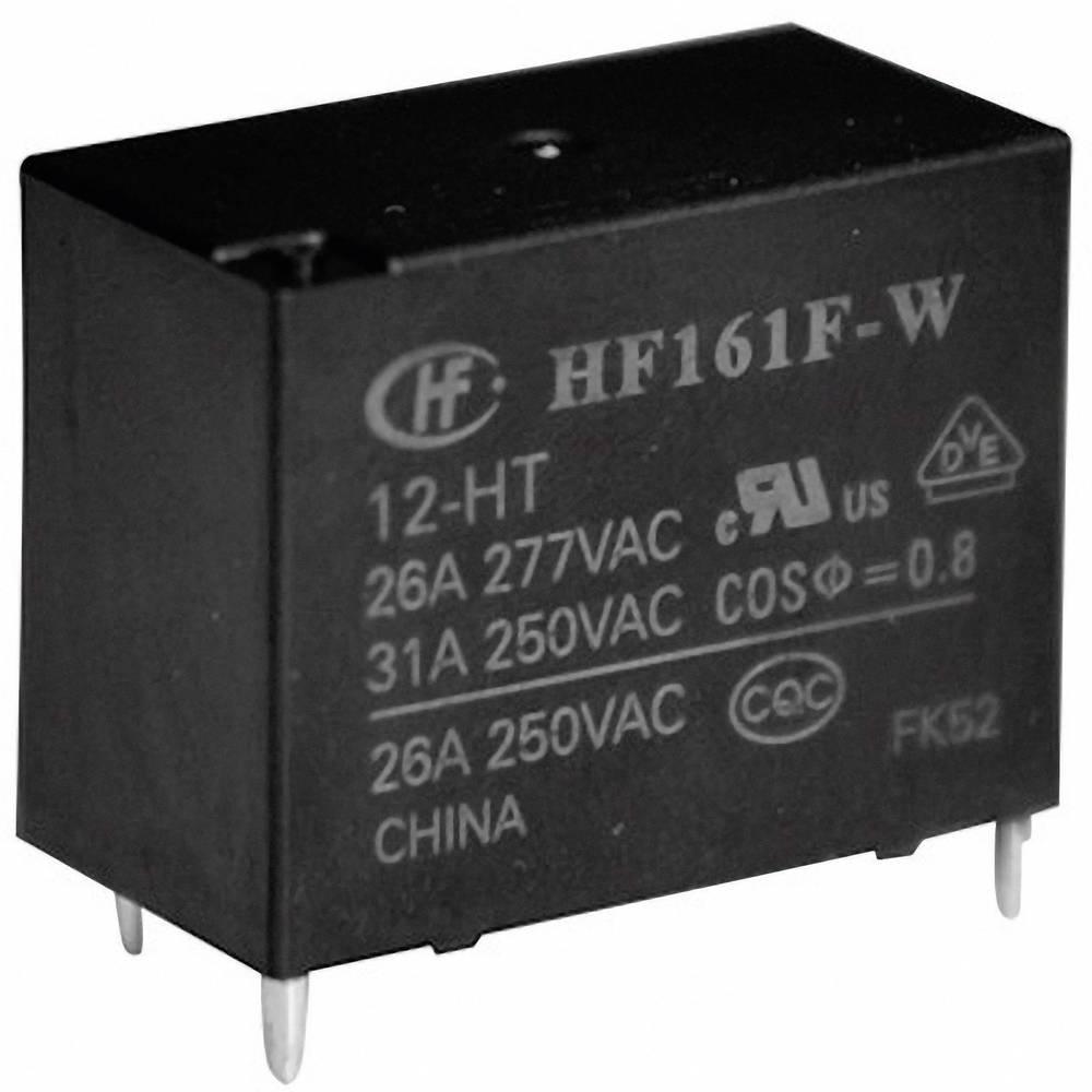 Solarni močnostni rele HongfaHF161F-W/012-HT, 12 V/DC, 1 xdelovni k., 31 A, 277 V/AC
