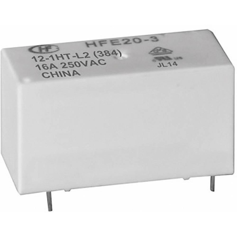 Omrežni rele Hongfa HFE20-1/012-1HD-L2, 12 V/DC, 1 x delovnikontakt, maks. 20 A, 250 V/AC