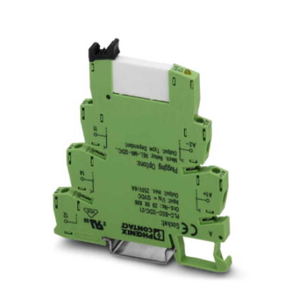 Interfacerelæ 10 stk 60 V/DC 6 A 1 x skiftekontakt Phoenix Contact PLC-RSC- 60DC/21