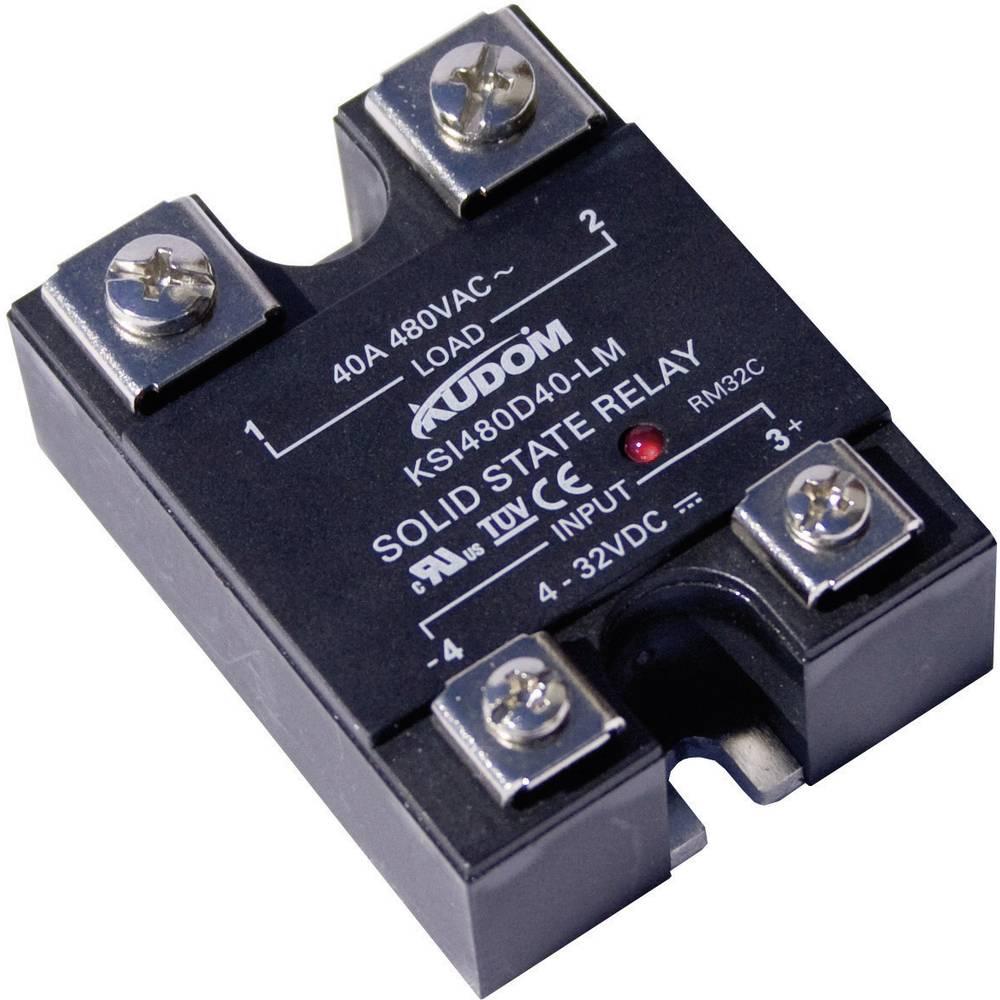 Polprevodniški-močnostni rele KSI480 Kudom KSI480 D25 LM preklopna napetost 48 - 530 V/AC