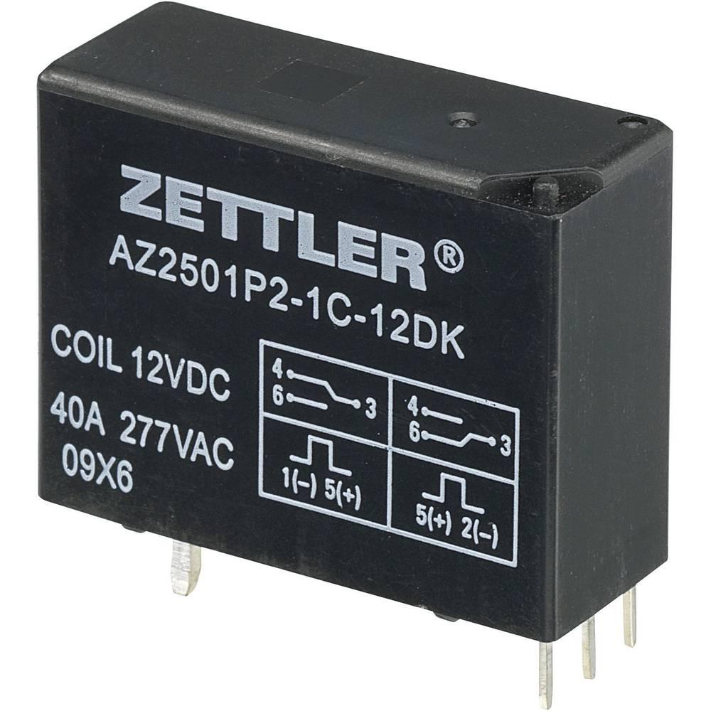 Bistabilni močnostni rele AZ2501P2-1C-12DK, 12 V/DC, 1 x preklopni k., 50 A, 440 V/AC