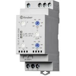 Finder 70.41.8.400.2030 3-phase network monitoring (380 – 415 V/Ac), optional N conductor monitoring, over/undervoltage ra