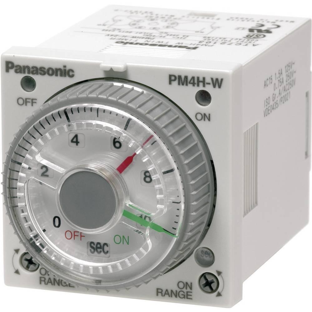Multifunkcijski časovni rele 240 V/AC 1 kos Panasonic PM4HWHAC240SWJ časovni razpon: 1 s - 500 h 2 x preklopni