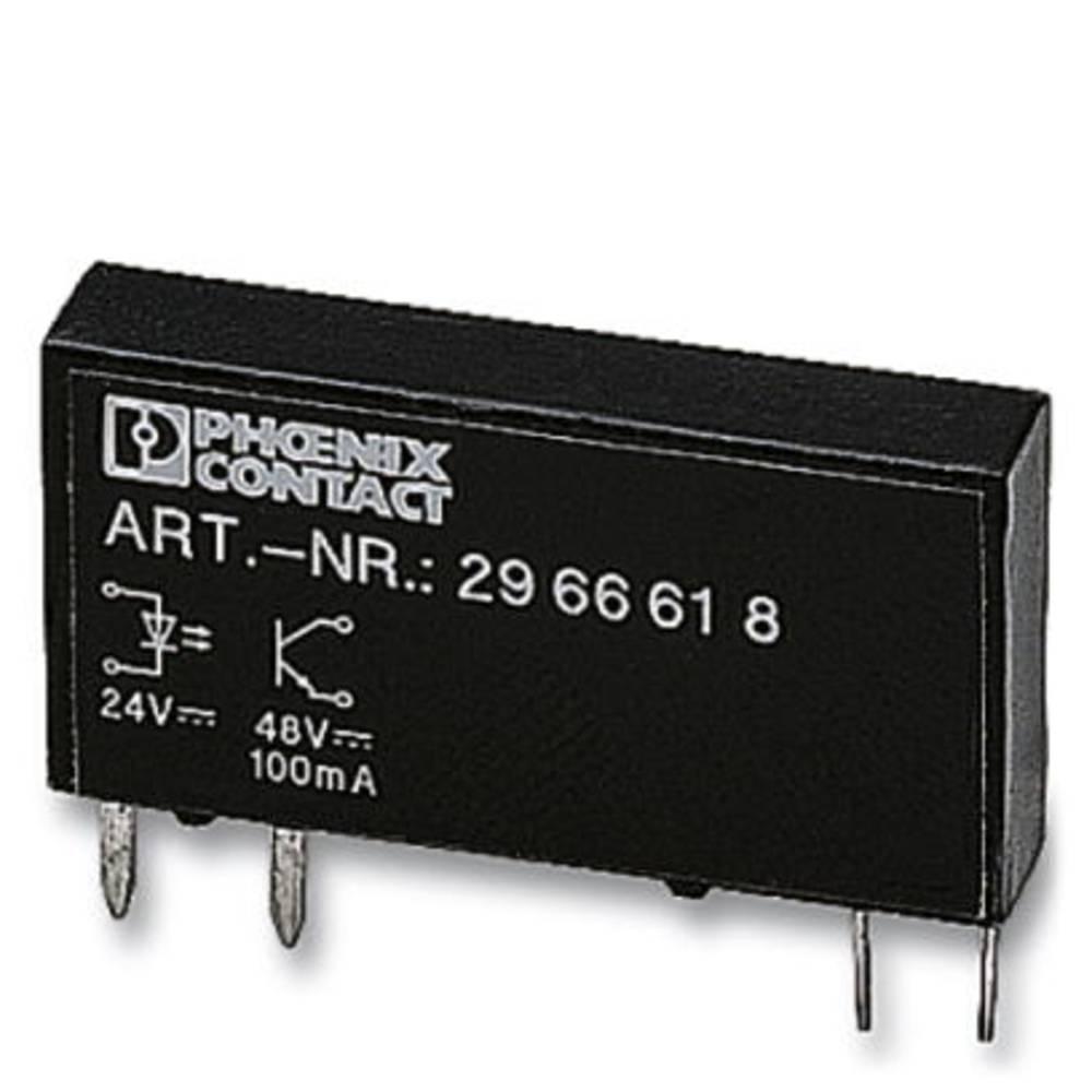 Halvlederrelæ 10 stk Phoenix Contact OPT- 5DC/ 24DC/ 2 Last-Strøm (maks.): 3 A Koblingsspænding (max.): 33 V/DC