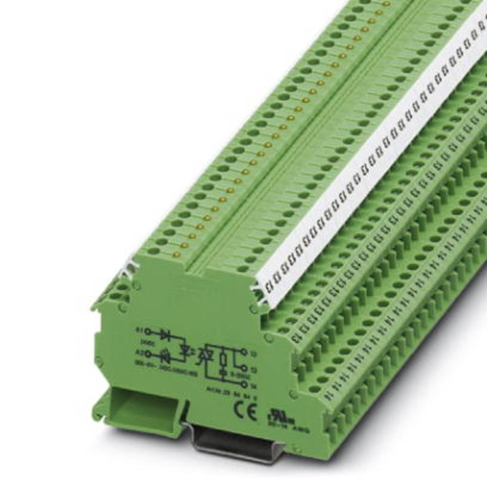 Halbleiterrelais (value.1292894) 10 stk Phoenix Contact DEK-OV- 24DC/240AC/800 Last-Strøm (maks.): 800 mA Koblingsspænding (max.