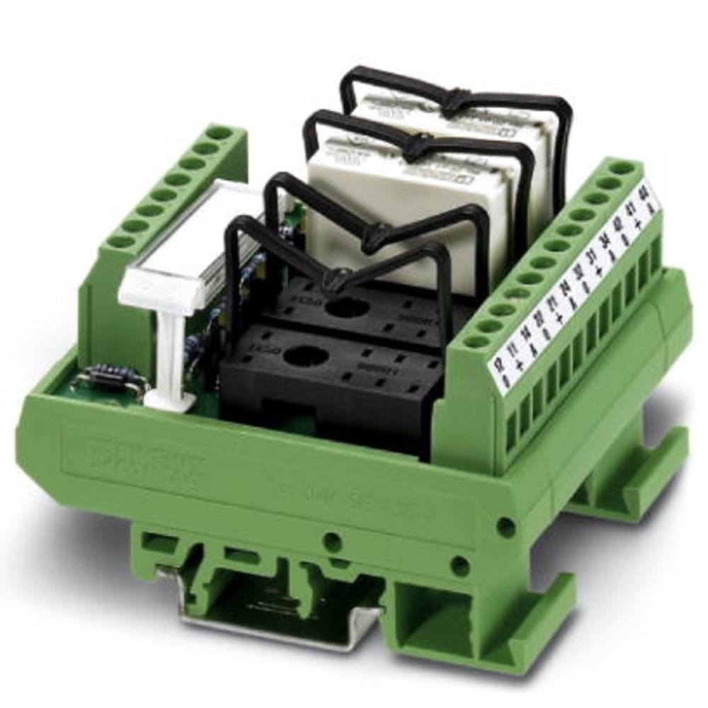 Relaisplatine (value.1292961) uden udstyr 1 stk Phoenix Contact UMK- 4 RM 24DC 1 Wechsler (value.1345271) 24 V/DC