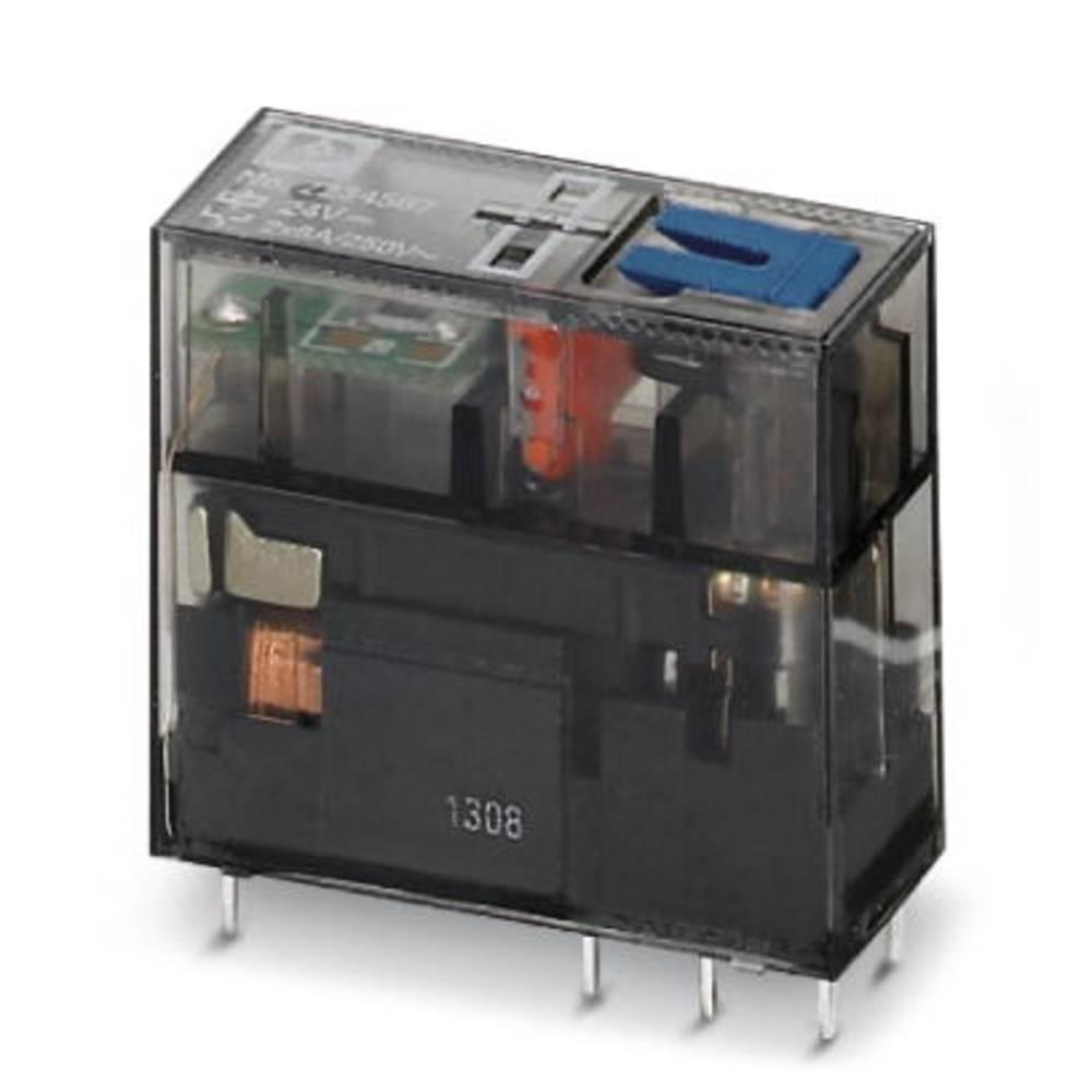 Rele za tiskana vezja 24 V/DC 8 A 2 x preklopni Phoenix Contact REL-MR- 24DC/21-21AU/MS 10 kosov