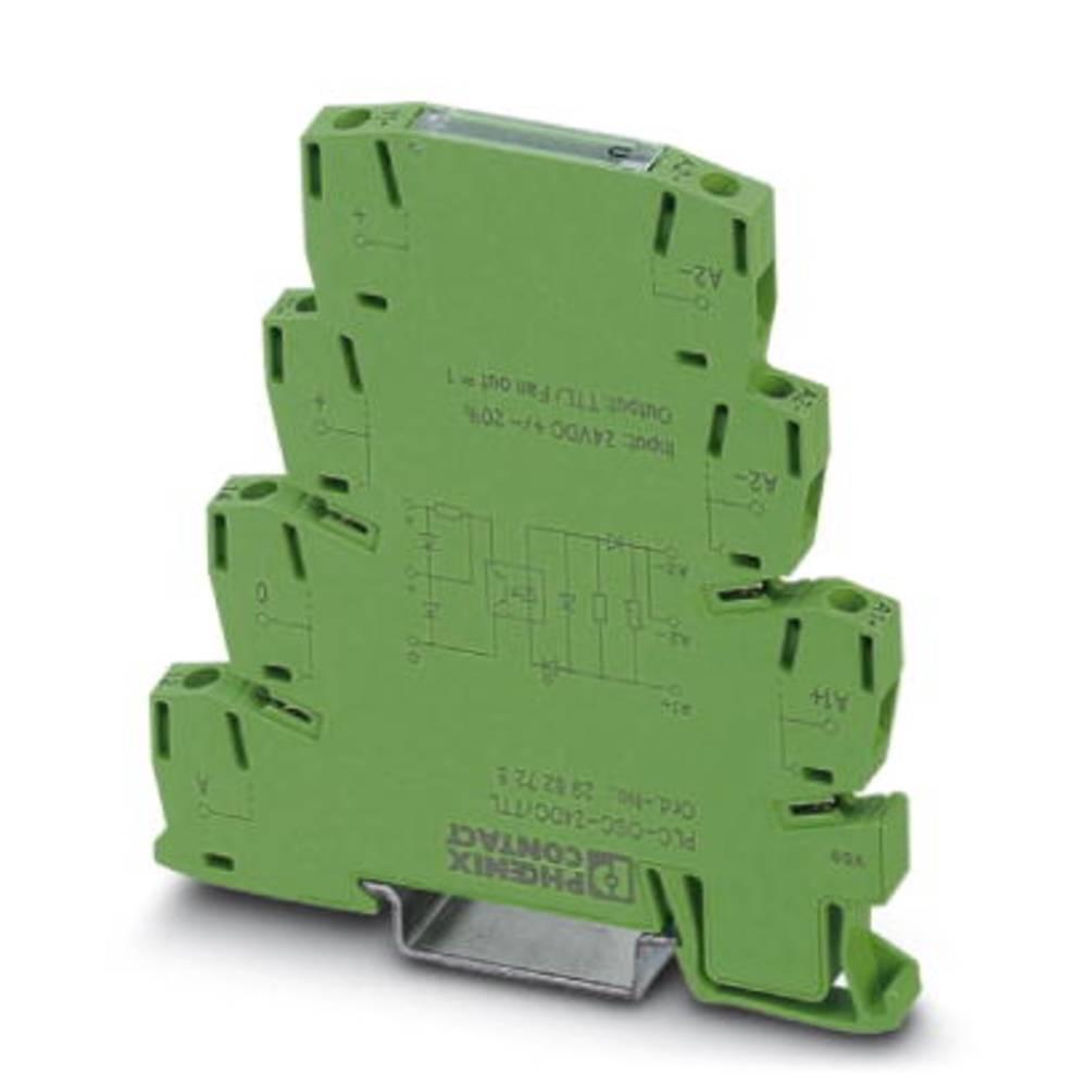 Halbleiterrelais (value.1292894) 10 stk Phoenix Contact PLC-OPT- 24DC/TTL Koblingsspænding (max.): 5 V/DC