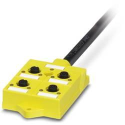 Sensor-/aktuator-kasse 10 m 1 stk Phoenix Contact PSR-SACB-4/4-L-10,0PUR-SD (L x B x H) 82 x 54 x 19 mm