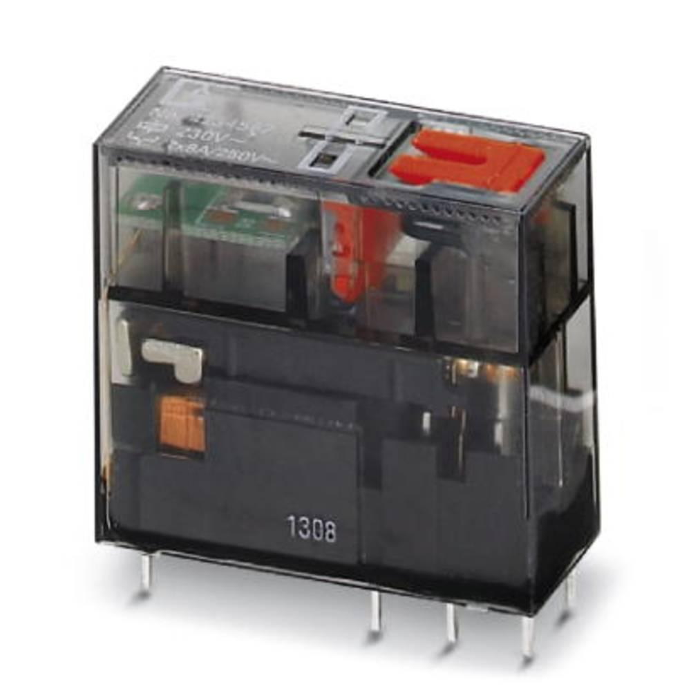 Rele za tiskana vezja 24 V/AC 8 A 2 x preklopni Phoenix Contact REL-MR- 24AC/21-21/MS 10 kosov