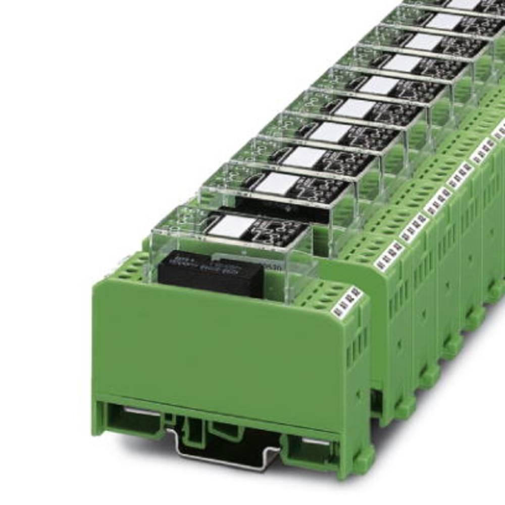 Relaisbaustein (value.1292895) 10 stk Phoenix Contact EMG 22-REL/KSR-230/21/ SO46 Nominel spænding: 230 V/AC Brydestrøm (max.):