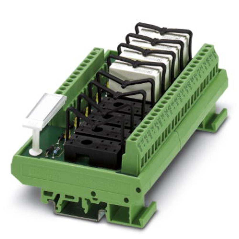 Relæprintplade uden udstyr 1 stk Phoenix Contact UMK- 8 RM230AC/MKDS 1 x skiftekontakt 230 V/AC