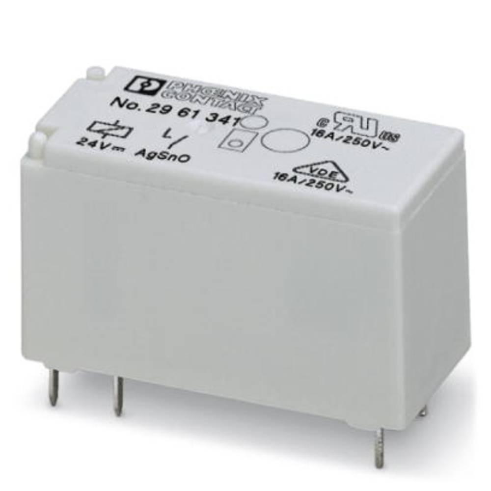 Printrelæ 24 V/DC 16 A 1 x sluttekontakt Phoenix Contact REL-MR- 24DC/ 1IC 10 stk