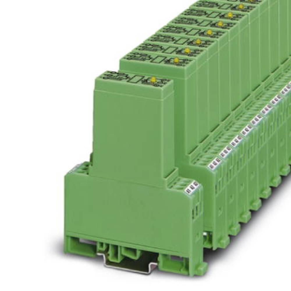 Halvlederrelæ 10 stk Phoenix Contact EMG 17-OV- 24DC/ 48DC/2 Last-Strøm (maks.): 2 A Koblingsspænding (max.): 48 V/DC