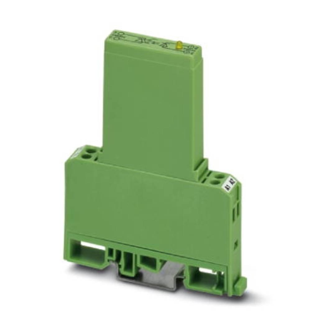 Halvlederrelæ 10 stk Phoenix Contact EMG 12-OV- 24DC/240AC/1 Last-Strøm (maks.): 1 A Koblingsspænding (max.): 280 V/AC