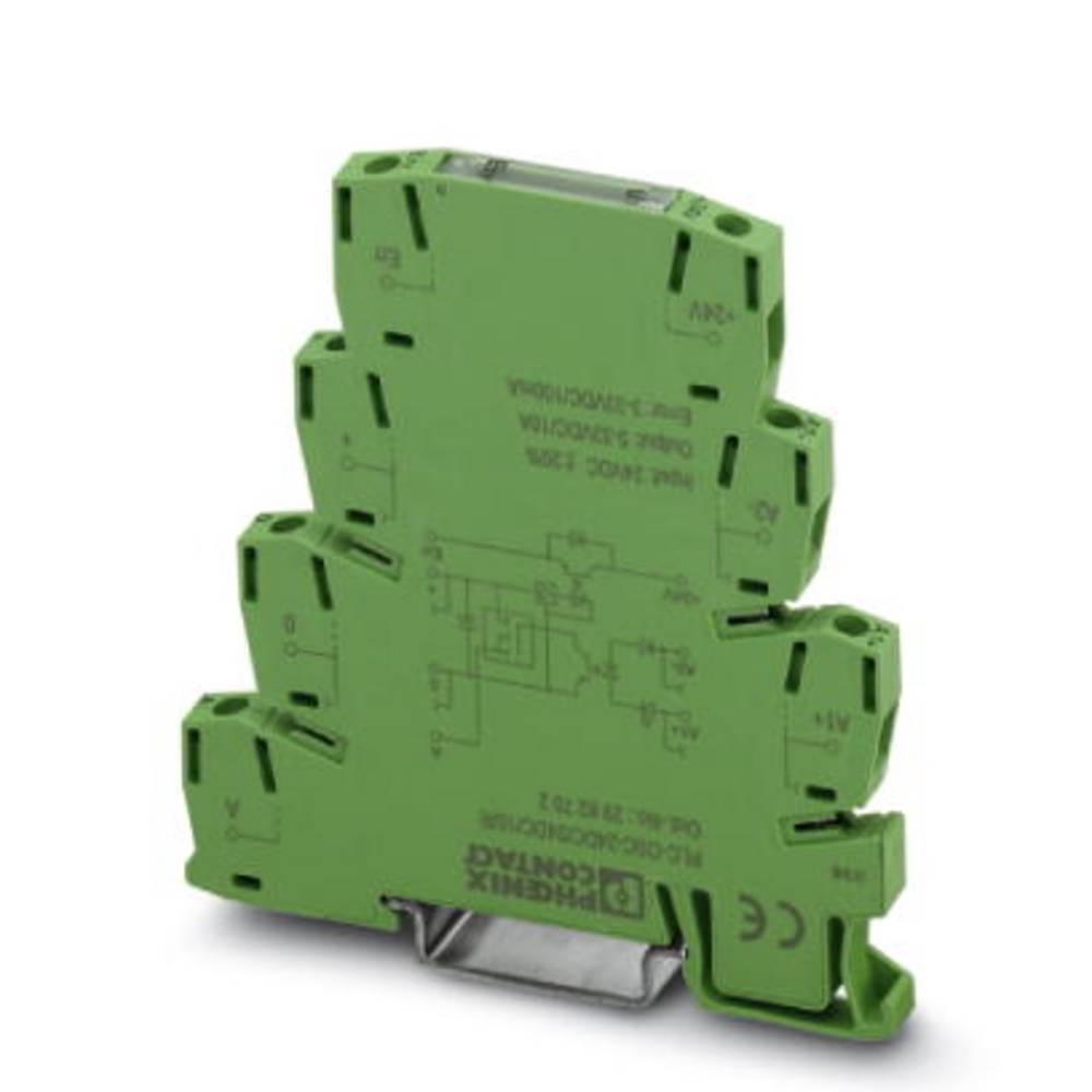 Halbleiterrelais (value.1292894) 10 stk Phoenix Contact PLC-OSC- 24DC/ 24DC/ 10/R Last-Strøm (maks.): 10 A Koblingsspænding (max