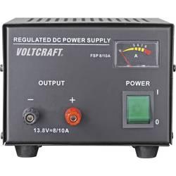 Laboratorijski napajalnik, s stalno napetostjo VOLTCRAFT FSP-1138 13.8 V/DC 8 A 110 W število izhodov: 1 x kalibriran po ISO