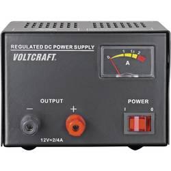 Laboratorijski napajalnik, s stalno napetostjo VOLTCRAFT FSP-1122 12 V/DC 2 A 25 W število izhodov: 1 x kalibriran po ISO