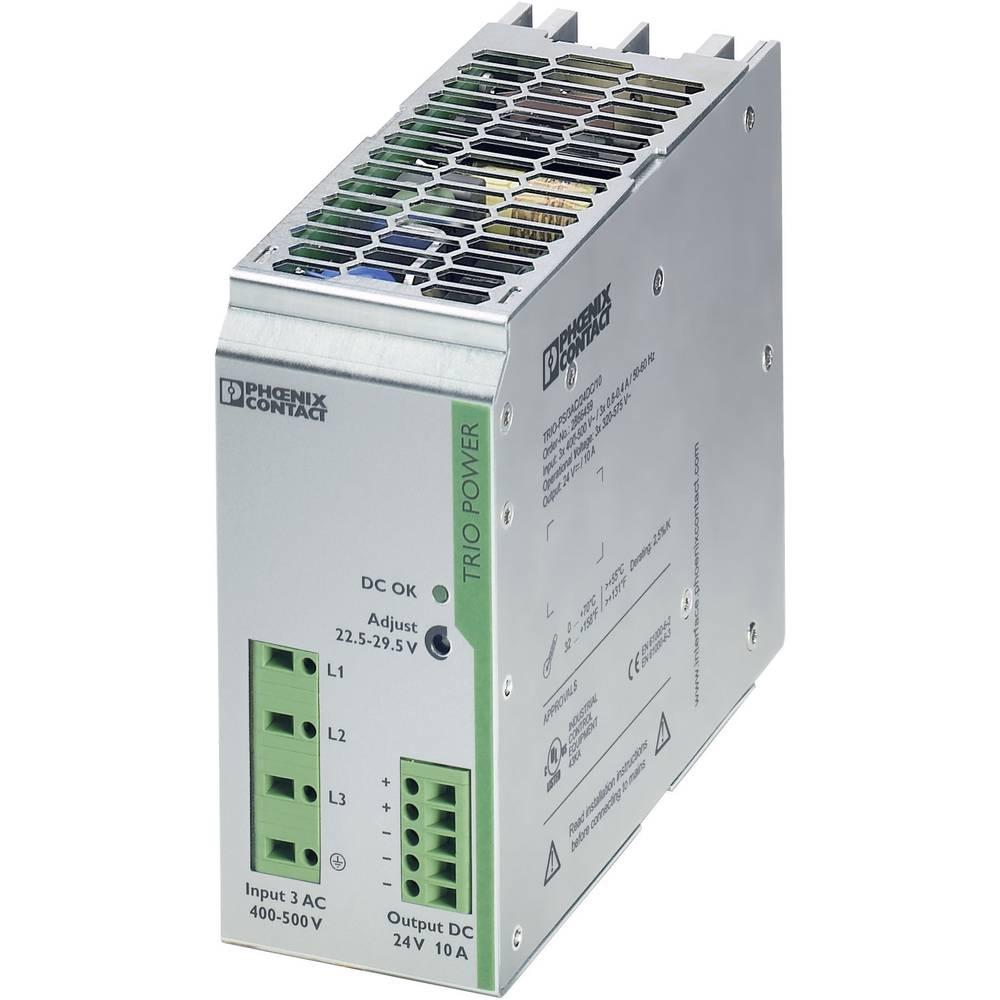Adapter napajanja za profilne šine (DIN-letva) Phoenix Contact TRIO-PS/3AC/24DC/10 29.5 V/DC 10 A 240 W 1 x