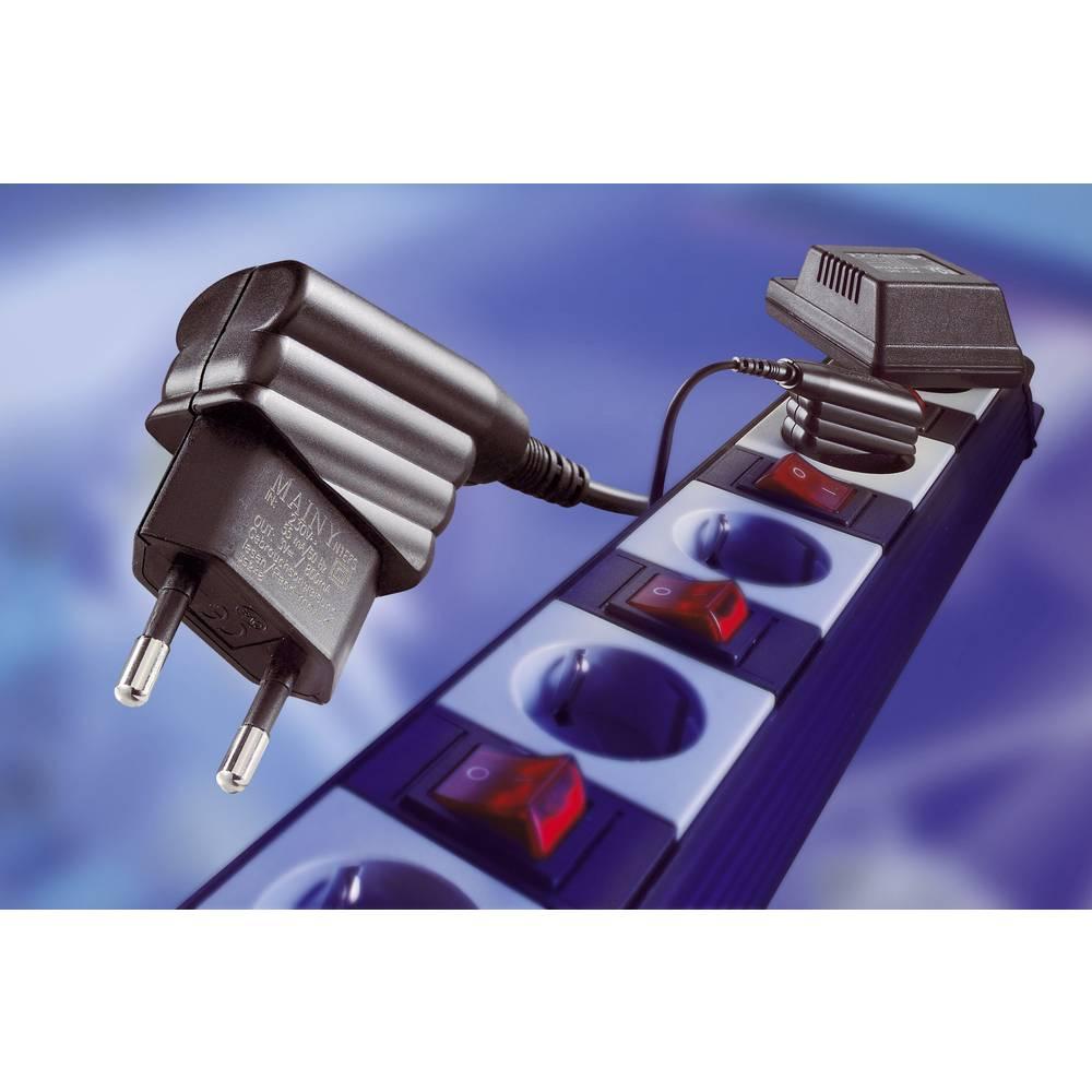 Vtični napajalnik s stalno napetostjo Egston 003920041 15 V/DC 800 mA