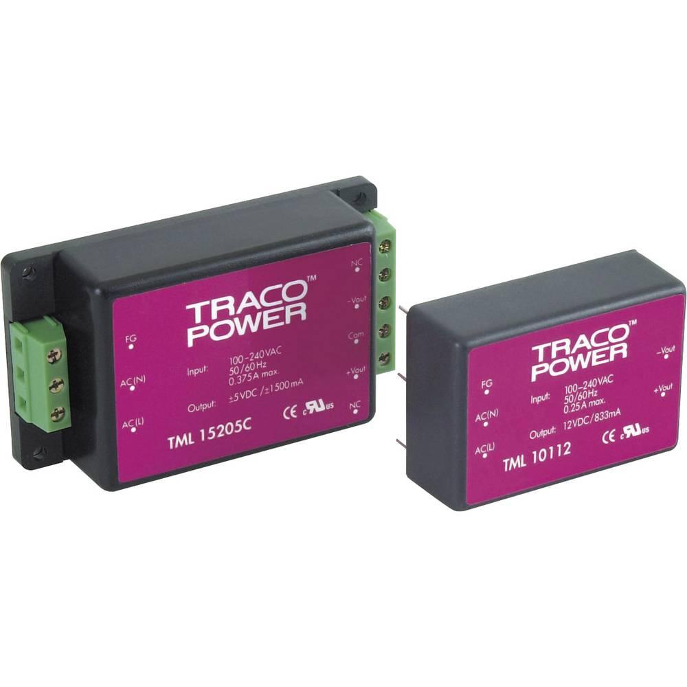 AC/DC napajač za tiskanu pločicu TracoPower TML 10112 12 V/DC 0.833 A 10 W