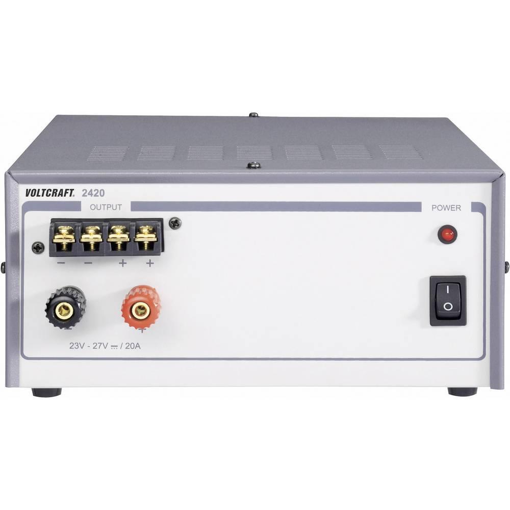 Laboratorijski napajalnik, s stalno napetostjo VOLTCRAFT FSP 2420 24 - 29 V/DC 20 A 540 W število izhodov: 1 x