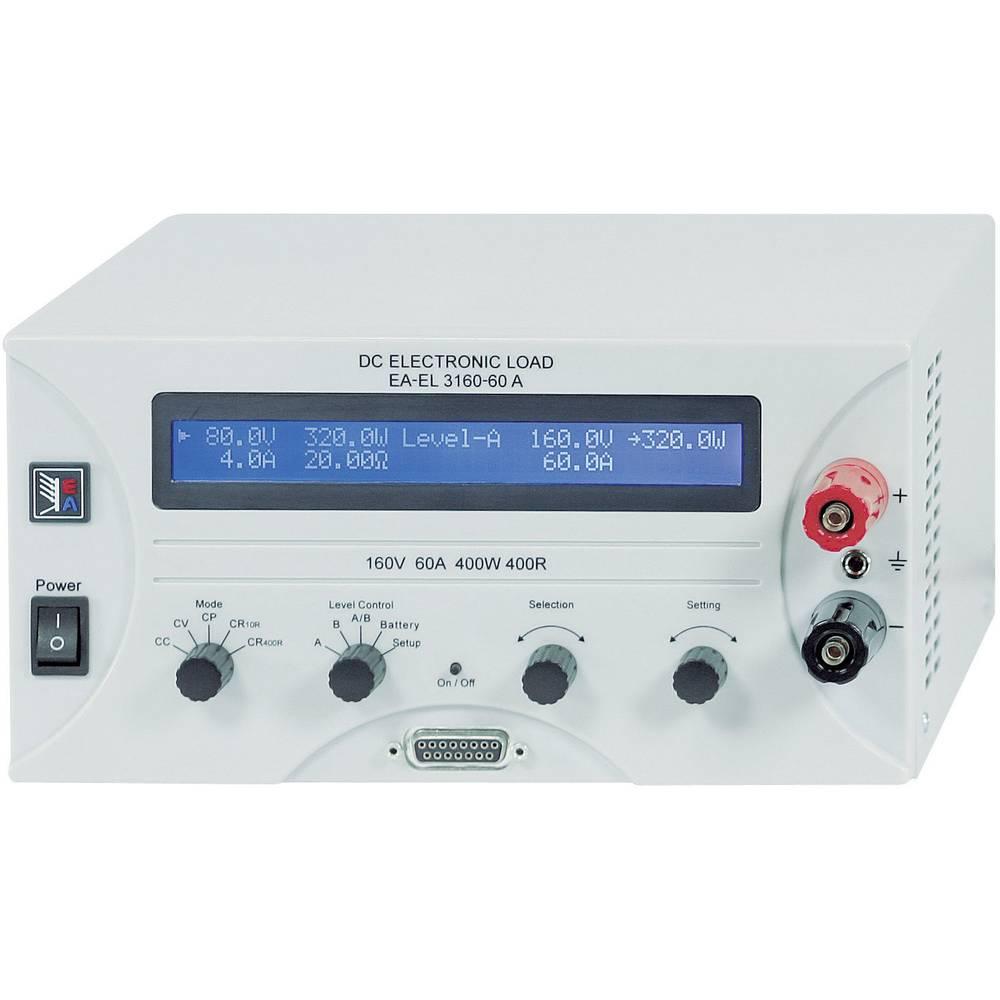 Elektronski obremenilnik EA Elektro-Automatik EA-EL 3160-60 160 V/DC 60 A 400 W kalibracija narejena po: ISO