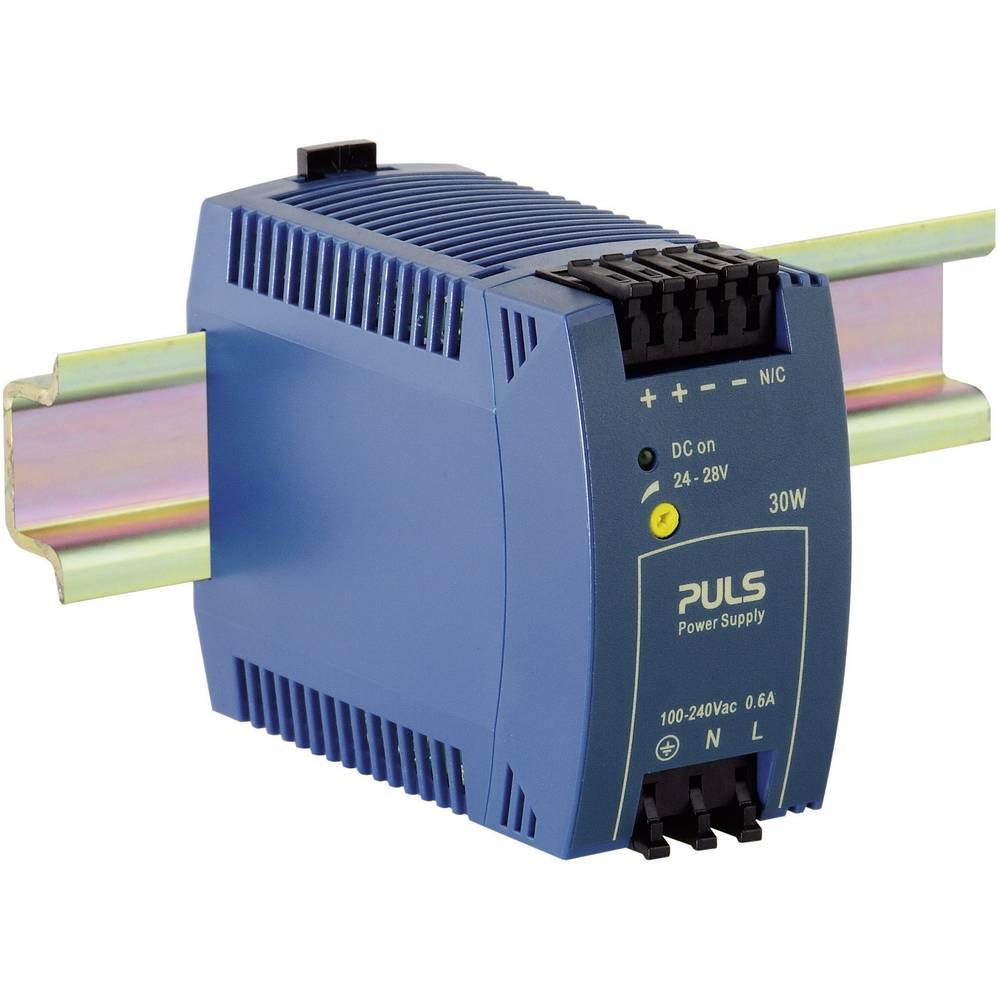 Napajalnik za namestitev na vodila (DIN letev) PULS MiniLine ML30.100 28 V/DC 1.3 A 30 W 1 x