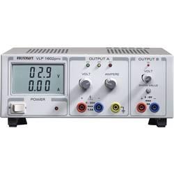 Laboratorijski napajalnik, nastavljiv VOLTCRAFT VLP 1602pro 0 - 60 V/DC 0 - 1.5 A 102 W število izhodov: 2 x kalibriran po ISO