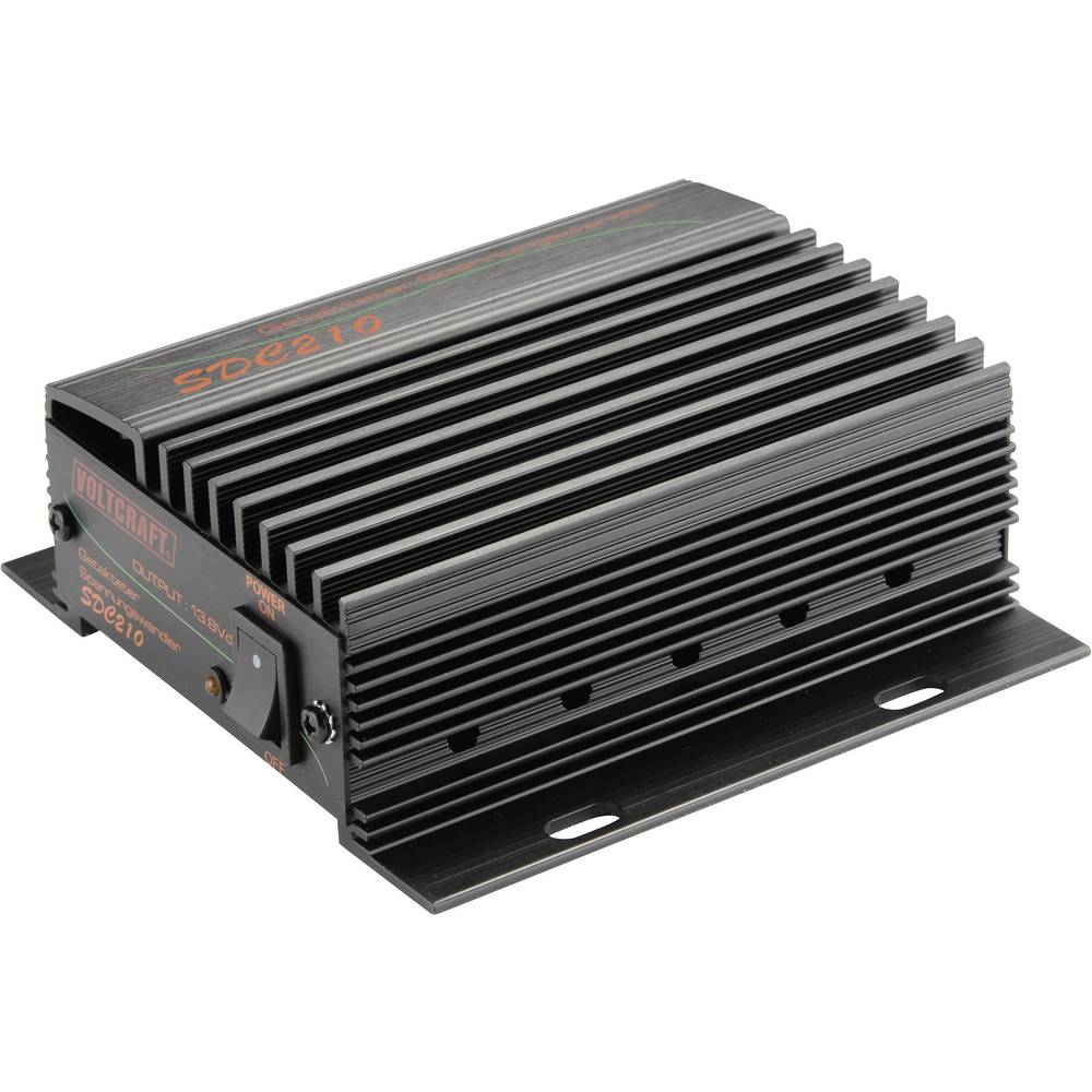 Pretvarač istosmjernog napona za motorna vozila VOLTCRAFT SDC-210 13.8 V/DC/10 A