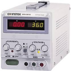 Kal. ISO-Laboratorijski napajalnik, nastavljiv GW Instek SPS-3610 0 - 36 V/DC 0 - 10 A 360 W Remote št. izhodov 1 x