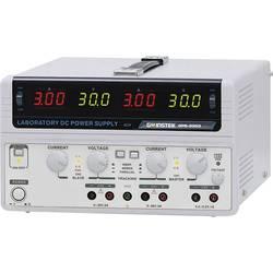 Kalib. ISO-Laboratorijski naponski uređaj, podesivi GW Instek GPS-3303 0 - 30 V/DC 0 - 3 A 195 W broj izlaza 3 x