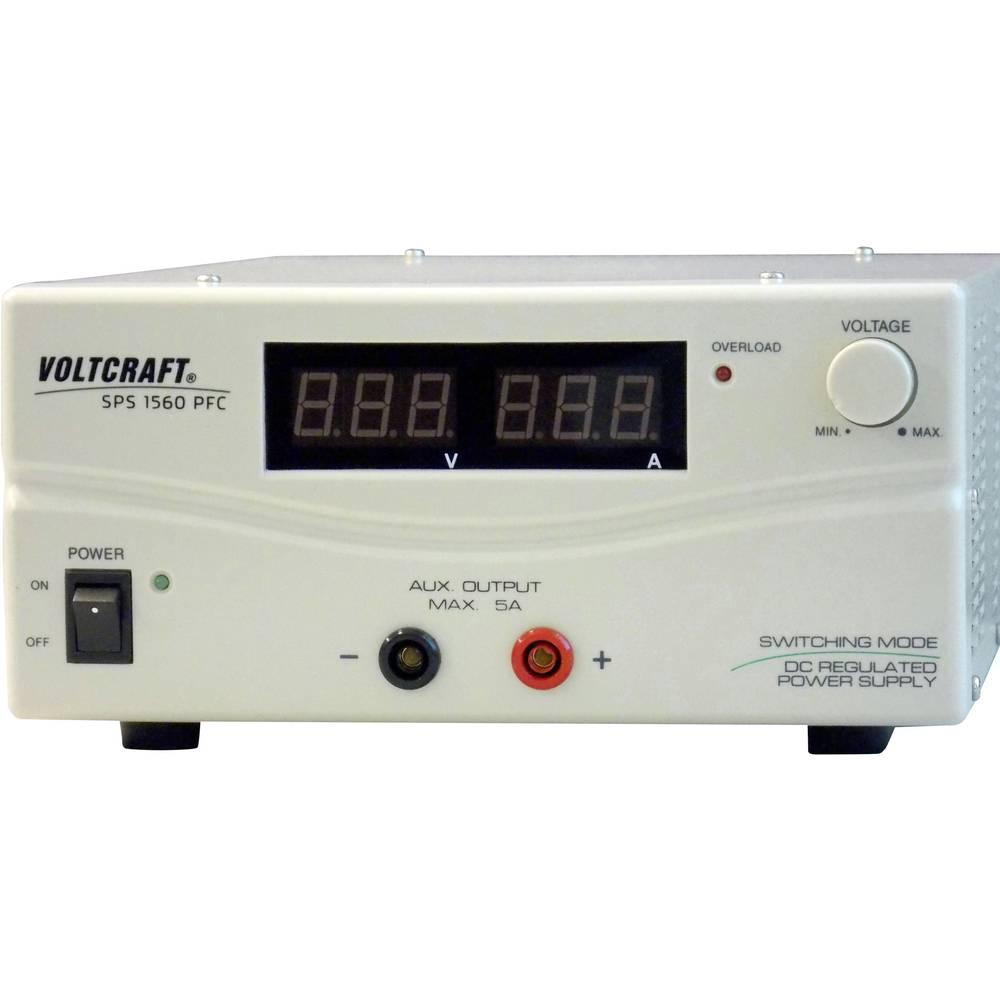 Laboratorijski napajalnik, nastavljiv VOLTCRAFT SPS 1560 PFC 1 - 15 V/DC 6 - 60 A 900 W daljinsko vodenje število izhodov: 2 x k