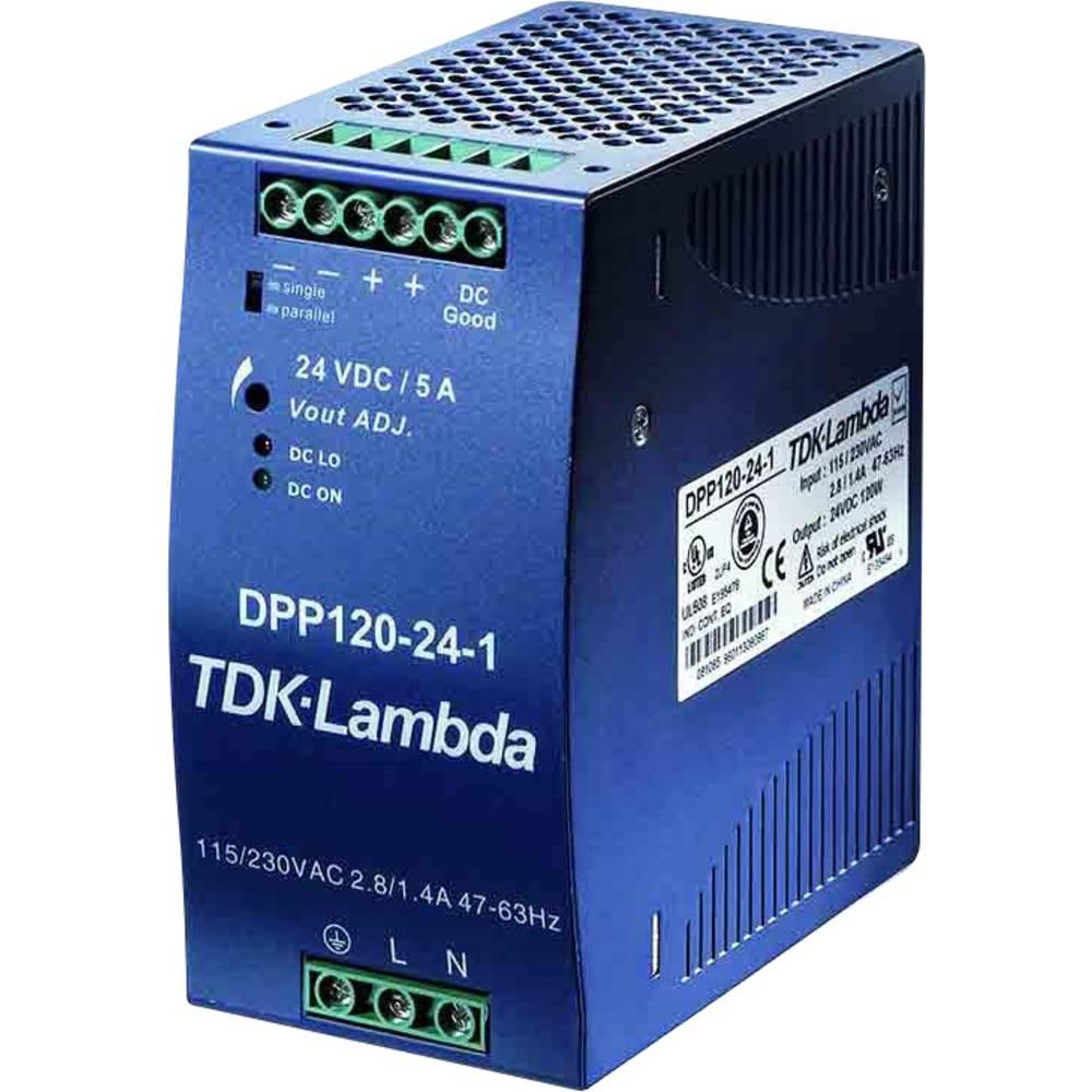 Napajalnik za namestitev na vodila (DIN letev) TDK-Lambda DPP-120-12-3 14.5 V/DC 10 A 120 W 2 x
